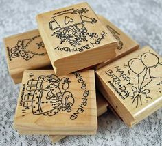 Stampin Up Stamp Set Nice and Easy Notes 1996 by annswhimsey, $17.50