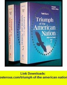 Triumph of the American nation (9780153759512) Lewis Paul Todd , ISBN-10: 0153759518  , ISBN-13: 978-0153759512 ,  , tutorials , pdf , ebook , torrent , downloads , rapidshare , filesonic , hotfile , megaupload , fileserve