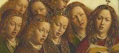 You have to love them: the singing angels from the Gent altarpiece (by Van Eyck). Some of them are divine, and some are... well, awkward. Click on the image for the 10 most amazing details of the altarpiece.