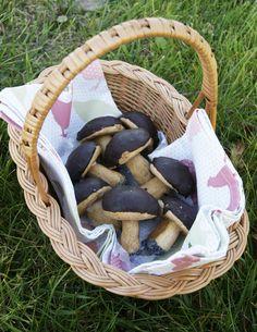 ciasteczka grzybki/ mushrooms cookies