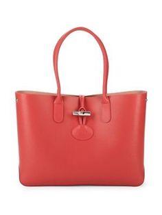 LONGCHAMP . #longchamp #bags #leather #hand bags #tote #