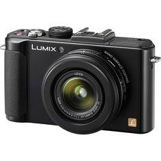Amazon.com : Panasonic LUMIX DMC-LX7K 10.1 MP Digital Camera with 3.8x Optical zoom and 3.0-inch LCD - Black : Point And Shoot Digital Cameras : Camera & Photo