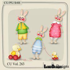CU Vol. 263 Animals Bunny Rabbits by Lemur Designs #CUdigitals cudigitals.comcu commercialdigitalscrapscrapbookgraphics #digiscrap