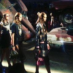 (Boomerang video on ig) New York Fashion Week @coach #coach #nyfw #glamourgoesfashionweek
