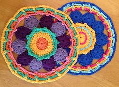 Ravelry: Mandala: Circles and Chains pattern by Lynne Samaan