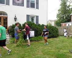 On Sunday, August 17, incoming UVA law students donated their time and effort to beautifying Piedmont CASA's small, but weed-infested yard. Spearheaded by UVA Law's Public Interest Law Association (PILA), this Public Service Day is a terrific boon for nonprofits.