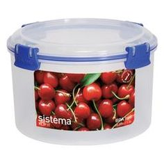 Sistema 6 Cup Round Storage Container