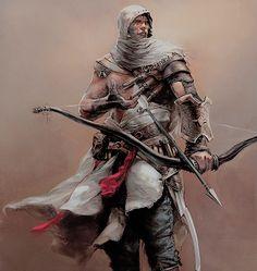 Assassin's Creed art Asasin Creed, All Assassin's Creed, Assassins Creed Series, Assassins Creed Origins, Dnd Characters, Fantasy Characters, Fantasy Warrior, Fantasy Art, Assassin's Creed Wallpaper