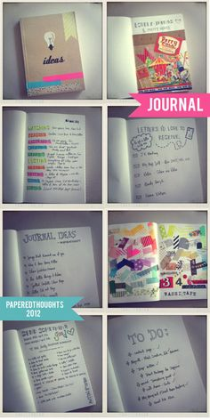 Ideas for your journaling.