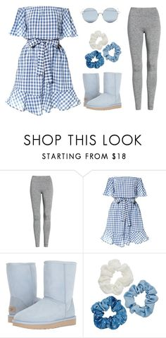 """""""Picnic outfit"""" by openwingscanfly on Polyvore featuring Treasure & Bond, UGG, Mudd and For Art's Sake"""