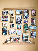 Clothespin Photo Displays On Pinterest Clothespin