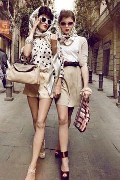 fashion models pin up