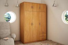 6-dverová šatníková skriňa VILMA Vám poskytne množstvo úložného priestoru. K dispozícií máte vešiakovú tyč, 5 priestranných políc a 3 zásuvky. V prevedení jelša a k dispozícií máte ďalších 6 farebných prevedení na výber. #byvanie #domov #nabytok #skrine #klasickeskrine #modernynabytok #designfurniture #furniture #nabytokabyvanie #nabytokshop #nabytokainterier #byvaniesnov #byvajsnami #domovvashozivota #dizajn #interier #inspiracia #living #design #interiordesign #inšpirácia Jelsa, Armoire, Tall Cabinet Storage, Furniture, Home Decor, Clothes Stand, Decoration Home, Closet, Room Decor
