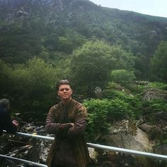 #Repost @alexhoeghandersen: Ivar enjoys the sights.