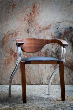 Palare Conference/Dining or Easy Chair — Luxury Bespoke Furniture Bespoke Furniture, Cool Furniture, Modern Furniture, Furniture Design, Diy Chair, Sofa Chair, Cafe Chairs, High Chairs, Room Chairs