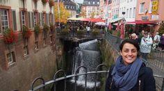 Saarburg e sua cachoeira no centro da cidade