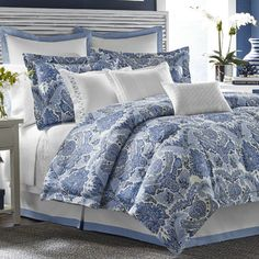 FREE SHIPPING! Shop Wayfair for Tommy Bahama Bedding Porcelain Paradise Bedding Collection - Great Deals on all Bed & Bath products with the best selection to choose from!