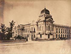 Álbum Fotografias de São Paulo 1900 - Palácio do Governo e Secretaria de Agricultura Anônimo (1890 década)