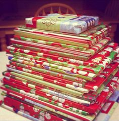 Wrap Christmas themed books to read every day during the holidays.