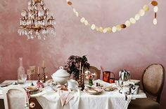 Christmas in Lovely Pink Palette! | Art And Chic