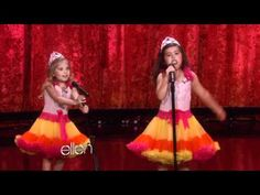 Sophia Grace and Rosie performing Nicki Minaj's 'Moment 4 Life'. I adore these little beauties.