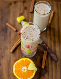 citrus and spice smoothie