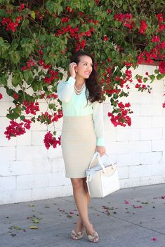 Mint Dots and Ruffles