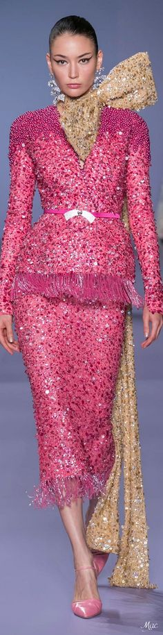 Hair and beauty Georges hobeika runway, Georges hobei. - Hair and beauty Georges hobeika runway, Georges hobeika Georges ho - Georges Hobeika, 2020 Fashion Trends, Spring Fashion Trends, Runway Fashion, Punk Fashion, Lolita Fashion, Spring Trends, Fashion 2020, Couture Fashion
