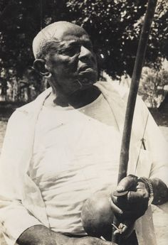 Mestre Bimba. Founder of the Brazilian Capoeira