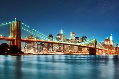 This high quality New York Brooklyn Bridge Skyline wallpaper is custom made to your dimensions. Easy to order and install plus FREE UK delivery within 2 to 4 working days. Wallpaper City, Bridge Wallpaper, Photo Wallpaper, Calendar Wallpaper, Desktop Calendar, Brooklyn Bridge, Manhattan Bridge, Brooklyn Girl, Manhattan Skyline
