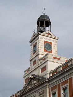 Campana reloj Puerta del Sol