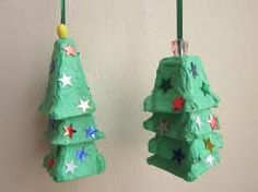 Adorable Xmas craft- I have the egg cartons to do this!