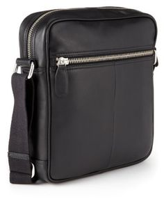 Collezione Leather Valentino Manbag-Marks & Spencer