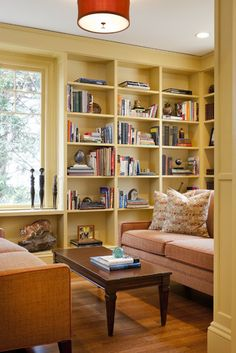 Coldspring Park Residence Library - eclectic - living room - boston - LDa Architecture & Interiors