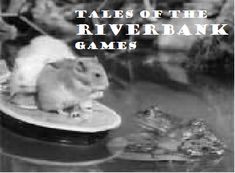 Tales of the Riverbank - 1960's BBC TV show we watched on Sundays before Davey & Goliath. There was Hammy the hamster Roderick the river rat and GP the Guinea Pig. They rode in their boats and built things and i LOVED them.