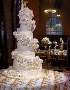 Glam Wedding Cakes, Wedding Cakes Photos by Sylvia Weinstock Cakes