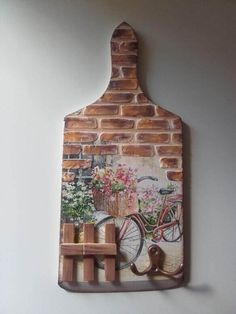 Vágódeszka újrahasznosítás New Crafts Painting On Wood Altered Art Bedroom Decor Woodworking Wood Paintings Wooden Art Stone Crafts Wooden Chest New Crafts, Hobbies And Crafts, Clay Crafts, Wood Crafts, Diy And Crafts, Arts And Crafts, Decoupage Art, Decoupage Vintage, Bottle Art