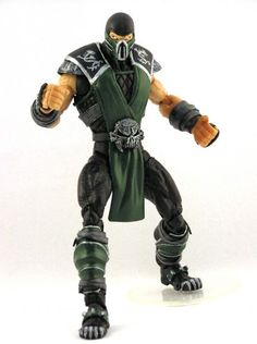 Mortal Kombat Reptile Figure | Reptile (Mortal Kombat) Custom Action Figure