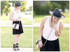 scallops and pleated skirt | allyson in wonderland