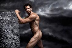 Body of a hockey god. Ryan Kesler