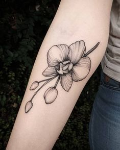 Discover recipes, home ideas, style inspiration and other ideas to try. Mama Tattoos, Family Tattoos, Body Art Tattoos, Tatoos, Rose Tattoos For Men, Black Tattoos, Tattoos For Guys, Jasmin Tattoo, Orchid Flower Tattoos
