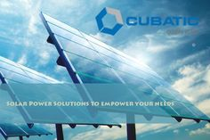 #CUBATICGROUP offering |#SolarPower Solutions