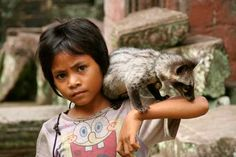 Bob l'éponge in Cambodia - I am totally OK if the only thing I see while in Cambodia is the little fox animal thing