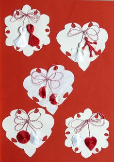 Imagini pentru Martisoare/traditionale 8 Martie, Paper Piecing Patterns, Manualidades, Classroom