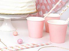 Papírpohár 6db-os készletben több színben Happy Birthday, Candle Holders, Baby Shower, Candles, Party, Tableware, Instagram Posts, Pink, Inspiration
