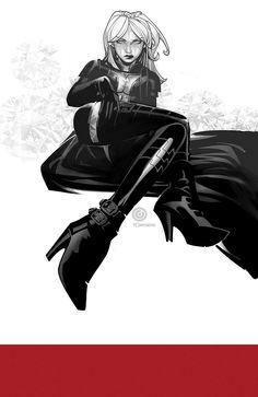 Emma Frost ~ Chris Bachalo