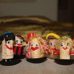 בובות מקסימות מפקקי שעם | פורטל תוכן מקצועי להורים וילדים