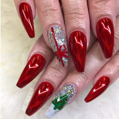 best christmas nail art designs for camaxidcom christmas nail ideas - Nail Ideas Xmas Nail Art, Xmas Nails, Holiday Nails, Cool Nail Art, Red Nails, Halloween Nails, Christmas Nails, Heart Nail Art, Heart Nails