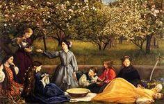 Apple Blossoms - John Everett Millais