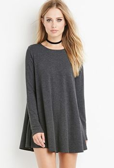 French Terry Trapeze Top | Forever 21 - 2000145599